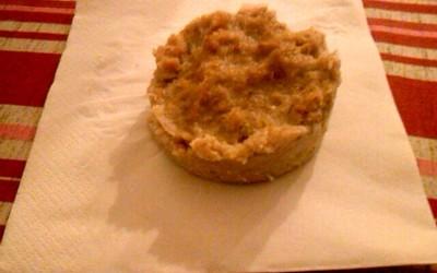 Gâteau de porridge (micro-onde)