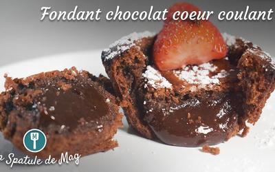 Fondant au Chocolat - au coeur coulant (mi-cuit)