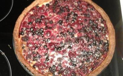 Ma tarte aux fruits rouges revisitée