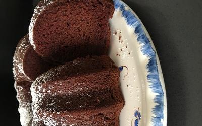 Gâteau au lait chaud au chocolat