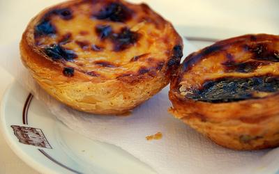 Pastel de Nata ou gâteaux portuguais