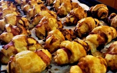Les petits croissants salés du réveillon de Noël