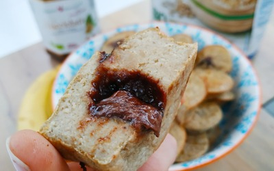 Muffins healthy coeur Nocciolata