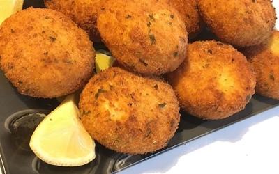 Croquettes de pommes de terre à la purée