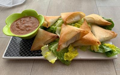 Samoussas thon/curry