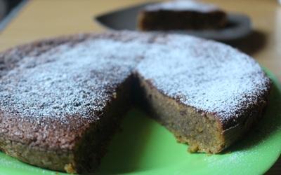 Gâteau chocolat praliné et amande