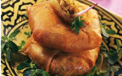 Mini Pastilla  aux fruits de mer