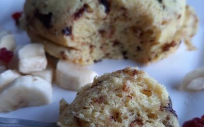 Bowlcake vanille et copeaux de chocolat