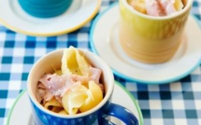 Macaronis jambon-fromage
