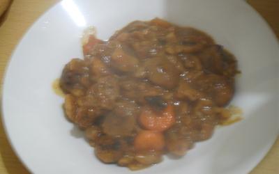 Boeuf carottes et châtaignes