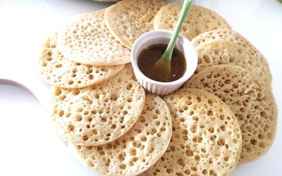 Baghrirs (crêpes mille trous) à la semoule