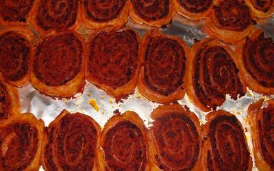 Roulés chorizo & tomates ( spécial été)