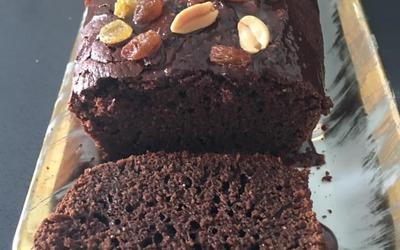 Cake au chocolat sans lait ni oeuf