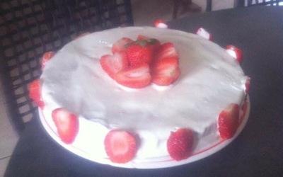 Layer cake Citron-Fraise