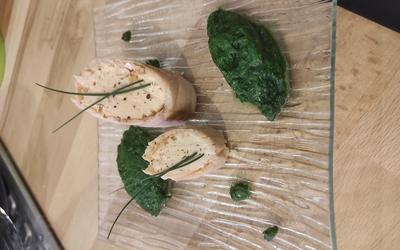 Ballotines de saumon