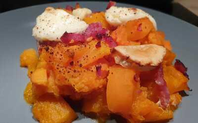 gratin de potimarron et patate douce