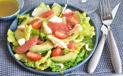 Salade d'avocats et pamplemousse ( recette light)