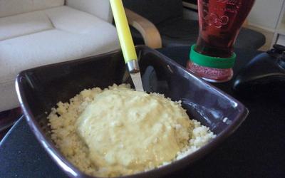 Semoule au thon et à la crème