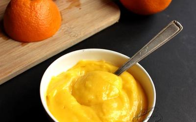 Orange curd version light!