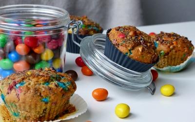 Muffins aux M&M's