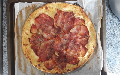Pizza Jambon Moutarde