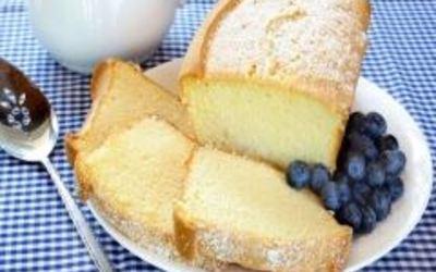 gâteau yaourt à la fleur d'oranger