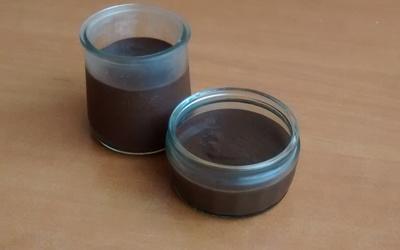 Crème fondante au chocolat noir