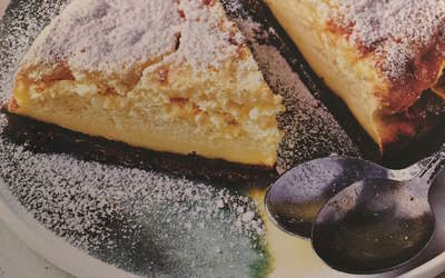Cheese-cake magique