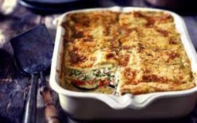 lasagne végetarienne, très facile et très bon!