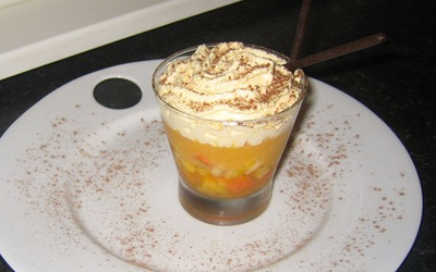 Cappuccino de fruits