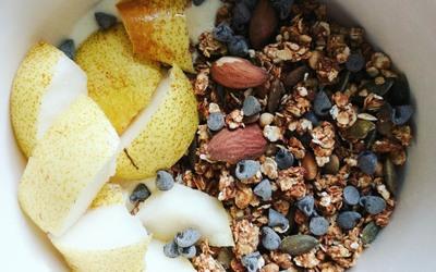 Granola pépites de chocolat et fruits secs