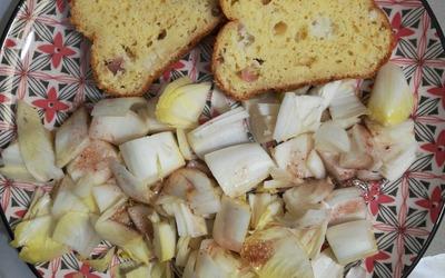 Cake salé mozzarella jambon blanc