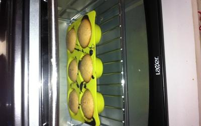 Muffin fondant au chocolat