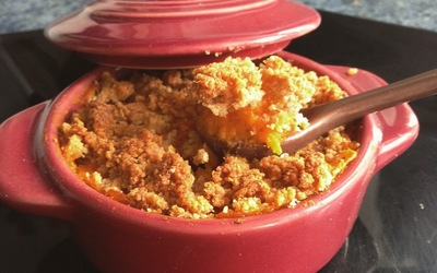 Crumble de Patate Douce