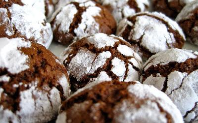Crinkles au chocolat