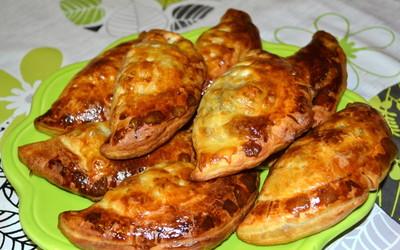 Empanadas au boeuf et au bleu