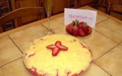 Tarte aux fraises gourmandes
