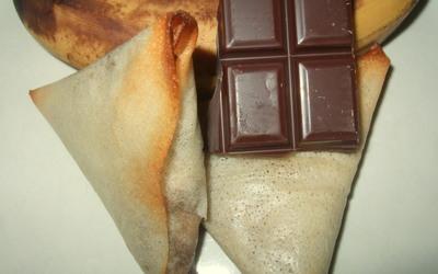 Samoussa Chocolat-Banane