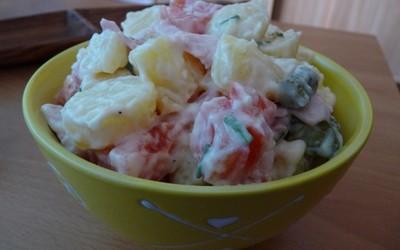 salade Piémontaise allégée  hyper simple