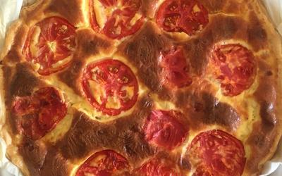 Quiche lardons-tomate