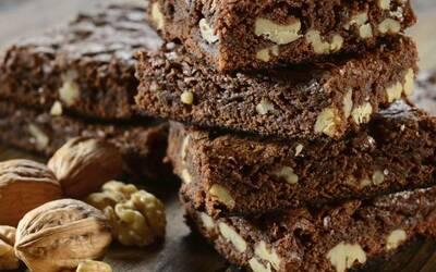 Recette de brownie aux noix
