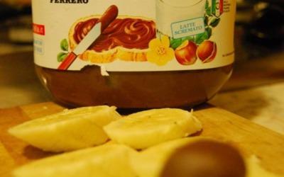 Verrine banane-nutella