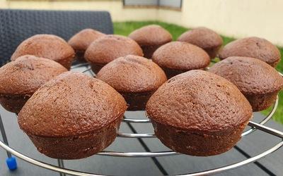 Minis gâteaux au lait chaud et chocolat