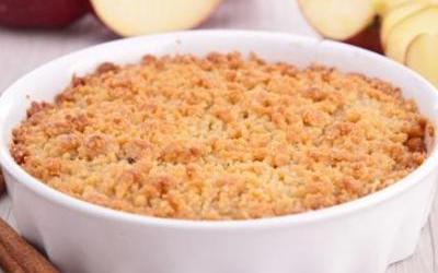 CRUMBLE Pomme- Poire  facile!