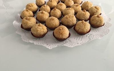 Petites boules coco/ cacahuètes
