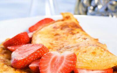 Omelette à la confiture
