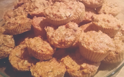 Muffins carrot cake (simplissime)