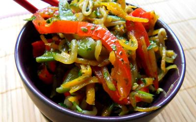 Légumes sautés à la sauce soja