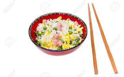 Riz cantonnais ( authentique recette)