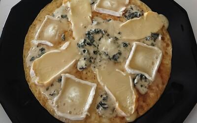 Pizza 3 fromages express (sans pâte)